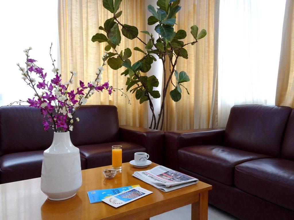 Το καθιστικό του Ξενοδοχείου Nefeli